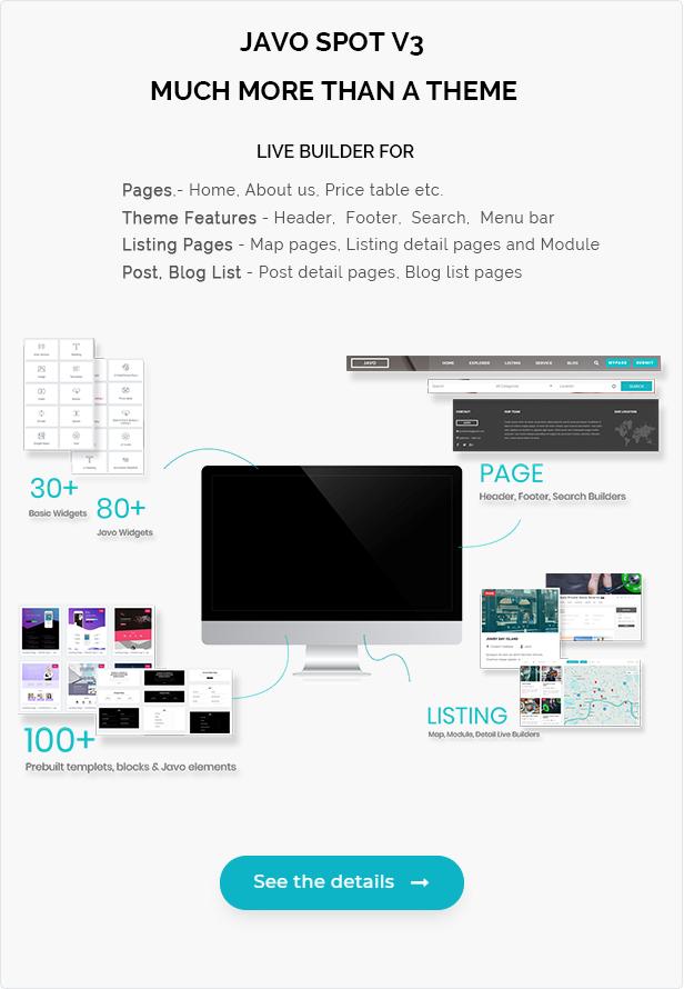 Javo Spot - Multi Purpose Directory WordPress Theme - 2
