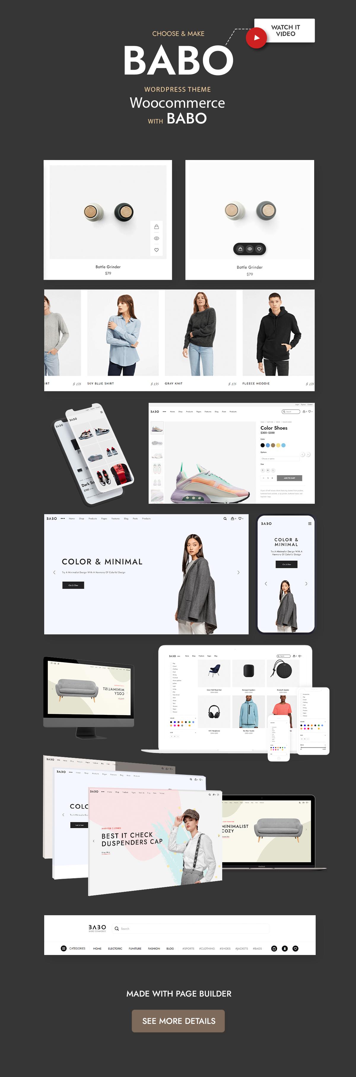 Babo - Modern & Flexible WooCommerce Theme - 3