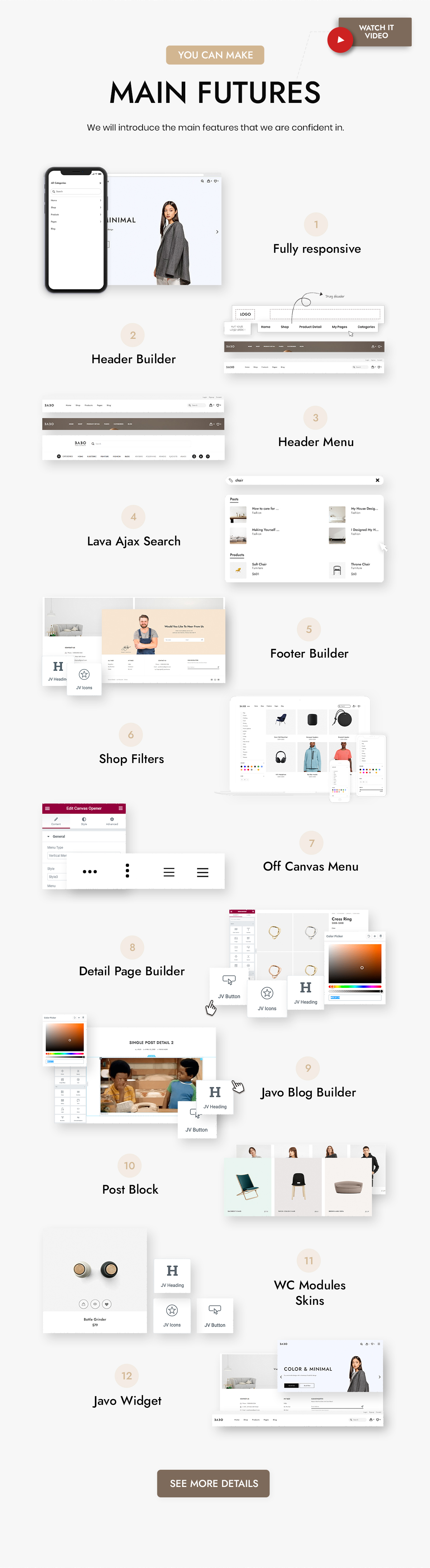 Babo - Modern & Flexible WooCommerce Theme - 16